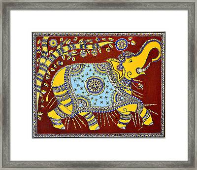 Majestic Framed Print by Deepti Mittal