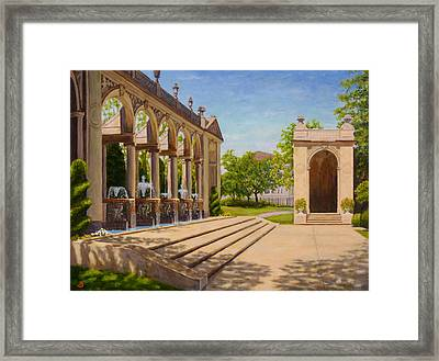 Majestic Entrance Framed Print