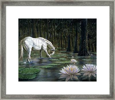 Majestic Framed Print by Gregory Perillo