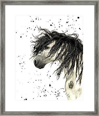 Majestic Grey Spirit Horse #44 Framed Print