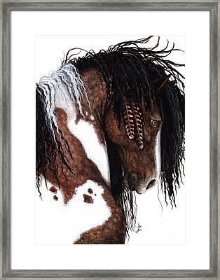 Majestic Gypsy Horse  Framed Print by AmyLyn Bihrle