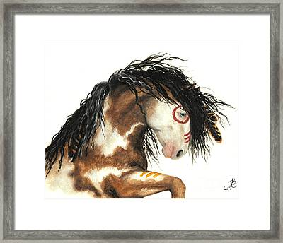 Majestic Horse Mustang 64 Framed Print by AmyLyn Bihrle