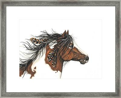 Majestic Horse Series 32 Framed Print by AmyLyn Bihrle