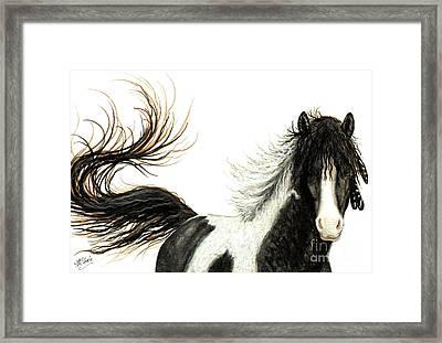 Majestic Horse Series #76 Framed Print by AmyLyn Bihrle