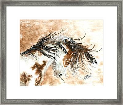 Majestic Horse Framed Print by AmyLyn Bihrle
