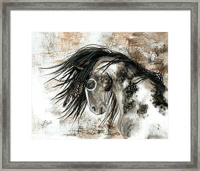 Majestic Horse Series 88 Framed Print by AmyLyn Bihrle