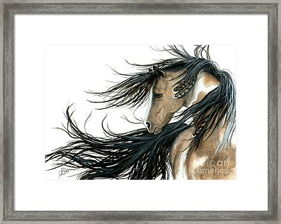 Majestic Horse Series 89 Framed Print by AmyLyn Bihrle