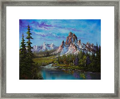 Majestic Morning Framed Print by C Steele