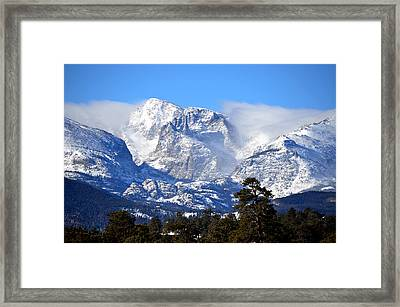 Majestic Mountains Framed Print