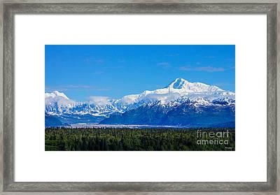 Majestic Mt Mckinley Framed Print