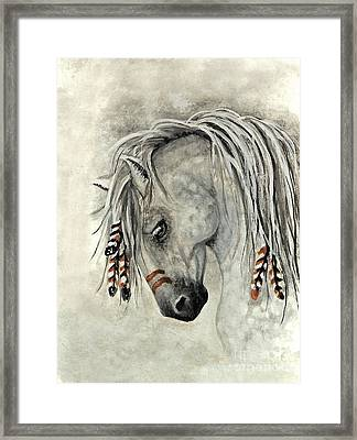 Majestic Mustang 30 Framed Print