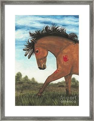 Majestic Mustang 36 Framed Print
