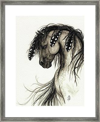 Majestic Mustang Horse Series #51 Framed Print by AmyLyn Bihrle