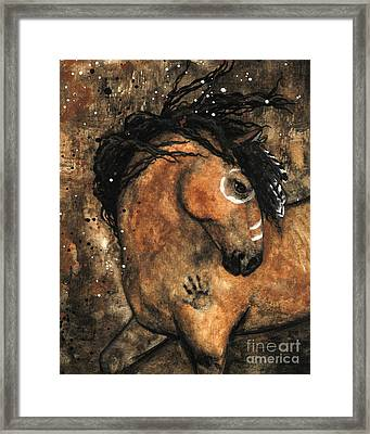 Majestic Mustang Series 60 Framed Print