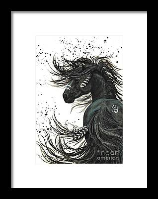 War Horse Framed Prints