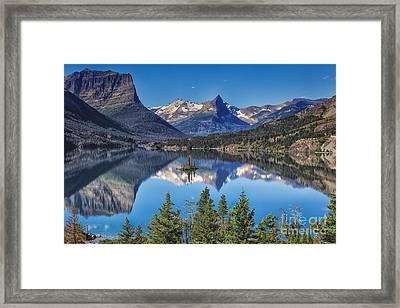 Framed Print featuring the photograph Majestic Reflection by Sophie Doell