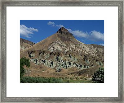 Framed Print featuring the photograph Majestic Rimrock by Chalet Roome-Rigdon