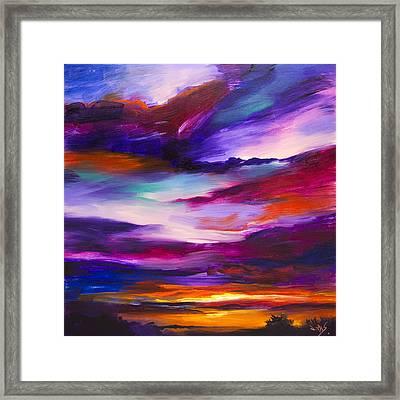 Majestic Skies #29 Framed Print by Jonas Gerard