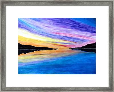 Majestic Sky Framed Print by Daniel Dubinsky