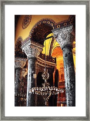 Majestic Sophia Framed Print by John Rizzuto