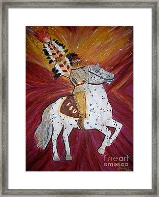 Majestic Spirit Framed Print by Marcus Hudson