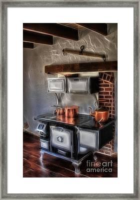 Majestic Stove Framed Print