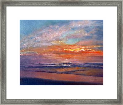 Majestic Sunrise Framed Print