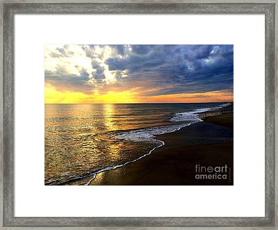 Majestic Sunset Framed Print