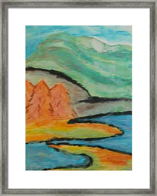 Framed Print featuring the painting Majestic by Thomasina Durkay