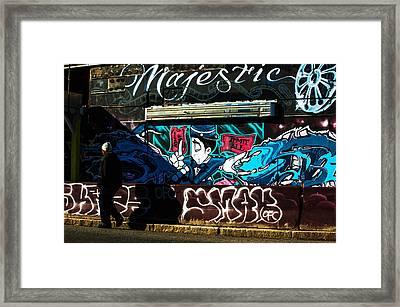 Majestic Urban Art Framed Print