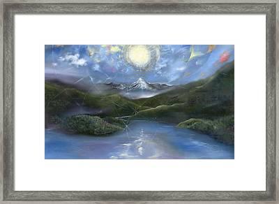 Majestik Twilight Framed Print by Jerod  Kytah