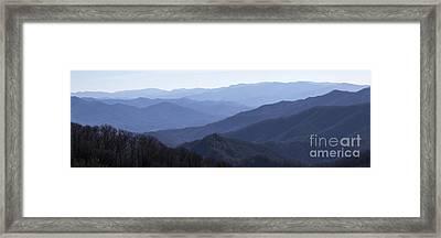 Majesty - Panoramic Framed Print