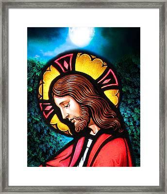 Framed Print featuring the digital art Majesty 2 by Karen Showell