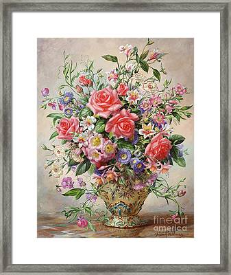 Majesty Framed Print by Albert Williams