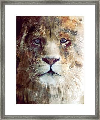 Majesty Framed Print by Amy Hamilton