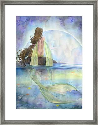 Majesty Framed Print by Sara Burrier
