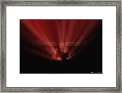 Majic Box Framed Print by Jason Green