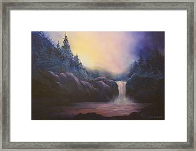 Magical  Light # 013 Framed Print by Frederick  Skidmore
