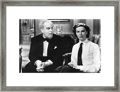 Major Barbara, From Left Robert Morley Framed Print