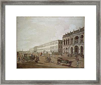 Major Buildings Of Colonial Calcutta Framed Print