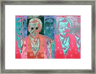Major Cool Framed Print by Carol Leigh