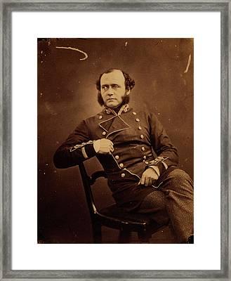 Major General Charles Ashe Sic Windham Framed Print