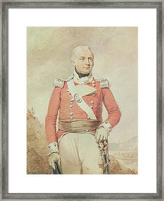 Major General Patrick Mckenzie, 1808 Framed Print