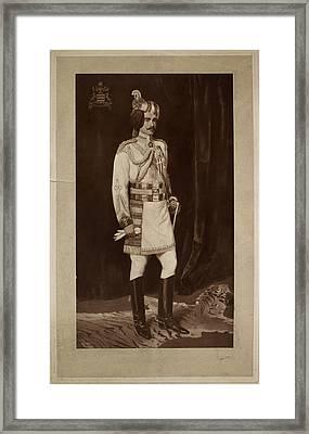 Major Hh Maharaja Sir Ganga Singh Framed Print