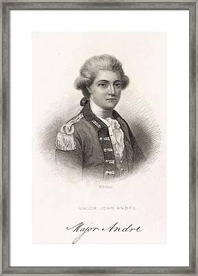 Major John Andre Framed Print