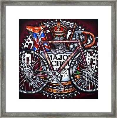 Major Nichols Framed Print by Mark Jones