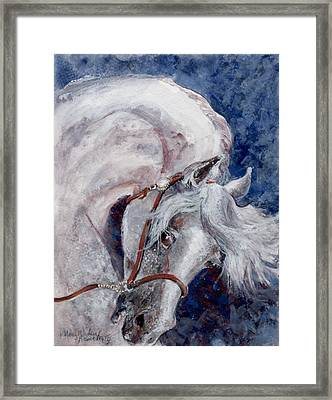 Major Portrait Framed Print by Mary Armstrong