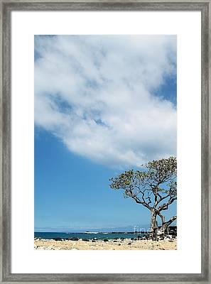 Makalawena Beach Framed Print