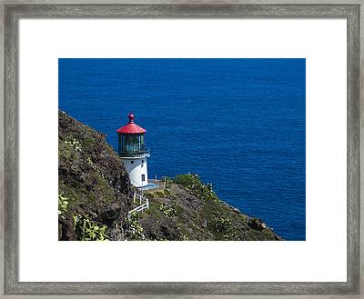 Makapuu Lighthouse 1 Framed Print
