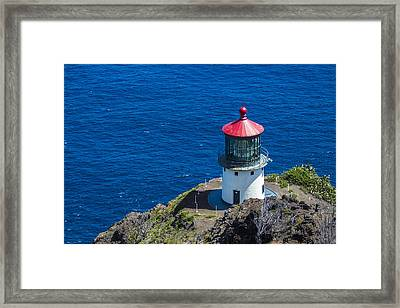 Makapuu Lighthouse 3 Framed Print